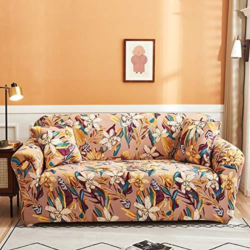 PPMP Funda de sofá elástica para Sala de Estar Funda de sofá elástica Funda de sofá elástica Funda de sillón de Esquina en Forma de L A8 1 Plaza