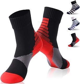 539b9641f 100% Waterproof Boys Socks, RANDY SUN Crew Outdoor Sports Hiking Socks 1  Pair for