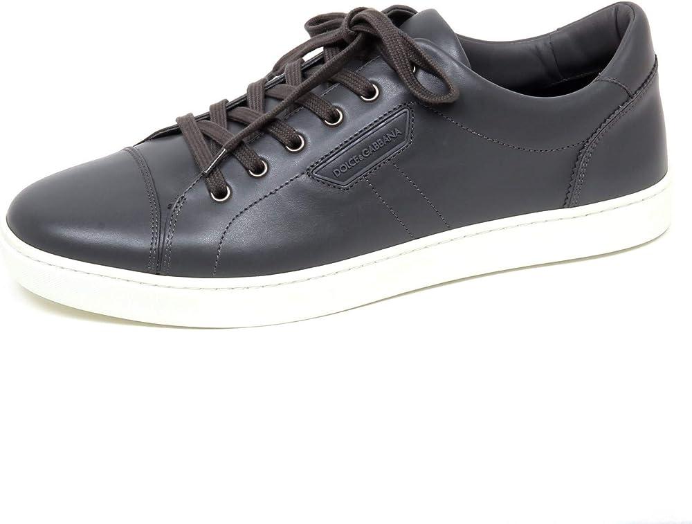 dolce & gabbana,scarpe sportivemsneakers per uomo,in vera pelle al 100 %,taglia 40 eu f0498