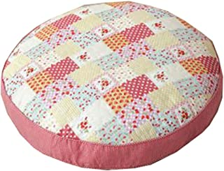 """Floor Pillow Thicken Cushion Japanese Futon Round Seat Cushion 21.6"""" x 21.6"""",A4"""