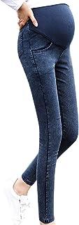 Ropa Premamá Invierno Talla Grande para Mujer Mangas Largas Tops Blusas Embarazo Maternidad Embarazo Skinny Pantalones Jeans sobre Los Pantalones EláStico