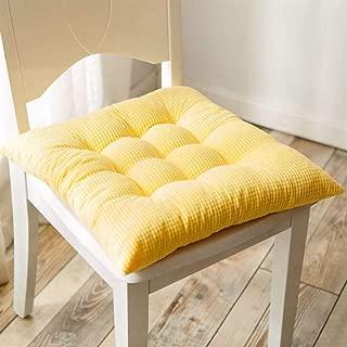 オフィスカバー - Gの椅子のクッションの厚さに椅子のクッション48X48Cm(19X19Cm) (色 : V, サイズ : 38x38cm(15x15inch))