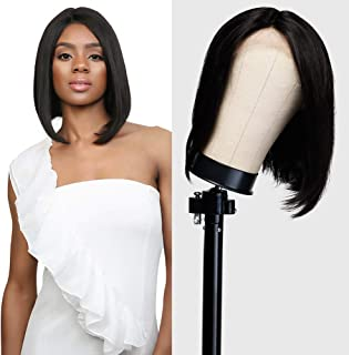 UpScale 100% Virgin Remi Human Hair Lace Front Wig J Parting Straight 14