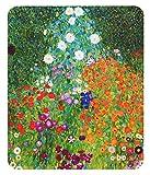 グスタフ クリムト 『 農家の庭 』のマウスパッド:フォトパッド(世界の名画シリーズ) (D)