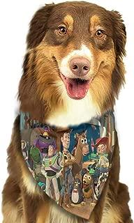 Custom Made Pet Dog Bandana Bibs Scarf Dog Kerchief Accessories for Medium Large Dog Puppy-Enjoy My Life Pattern Printing Colorful