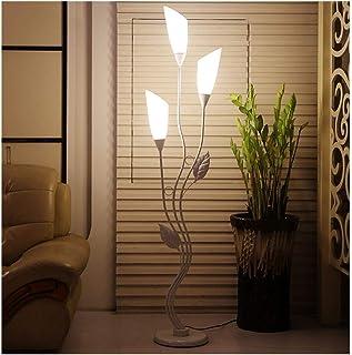 Lampe sur pied Lampadaire, tube de fleur élégant, lampe de plancher acrylique moderne, salon de la maison, une salle d'étu...