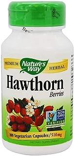 Natures Way Hawthorn Berries, 510mg 100 Capsules