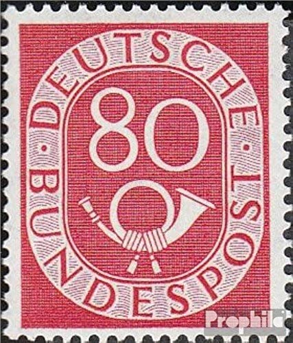 RFA (FR.Allemagne) 137 1952 Horn (Timbres pour les collectionneurs)