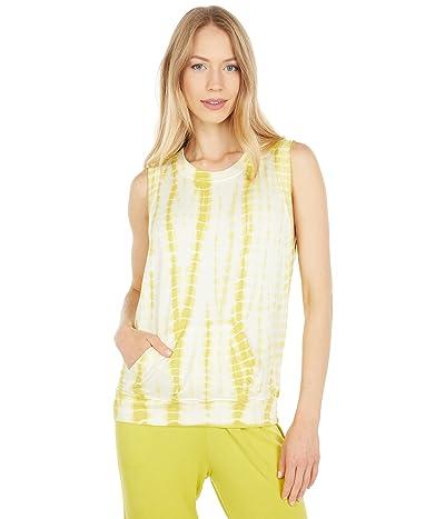 LAmade Abbie Tie-Dye Sleeveless Pullover Tank Top