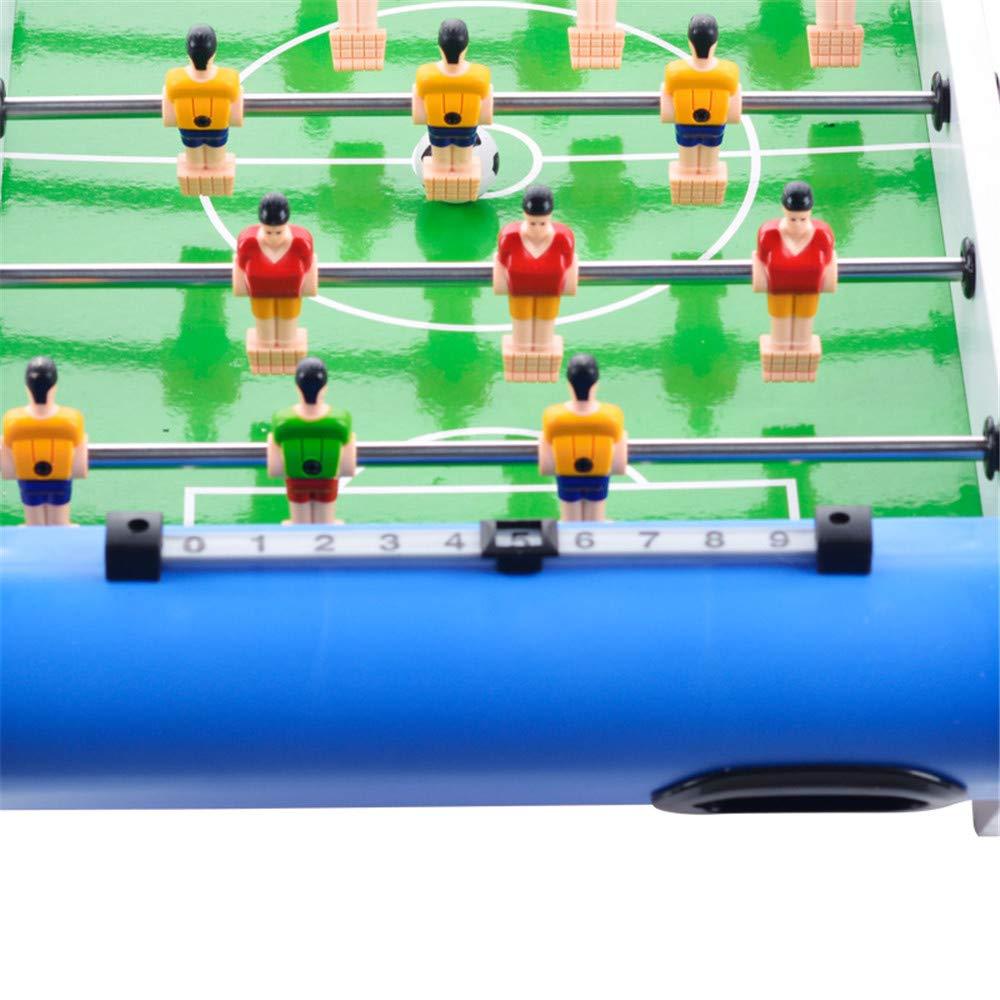 Mesa de juego combo estable Mini partido de fútbol de mesa, juego de mesa de fútbol de mesa de fútbol superior 50 * 25 * 12 cm Adecuado para niños Juegos de