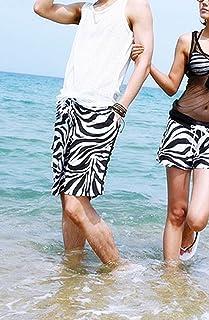 メンズ サーフ パンツ ビーチに映える ゼブラ 海水浴 ♪ 海パン ハーフパンツ 短パン