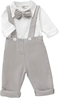 Best baby boy white overalls Reviews