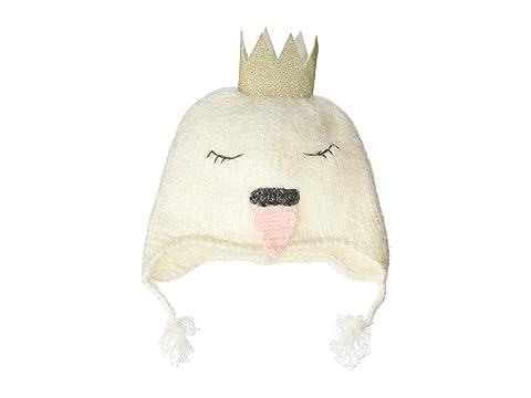 Swan Crochet Beanie Hat (Infant) by Mud Pie