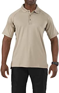 5.11 Performance Polo Short Sleeve Shirt,Silver Tan,Small