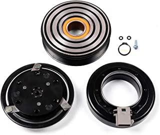 cciyu AC Compressor and A/C Clutches Set for Lincoln Continental 1990-1994 Replacement fit for CO 101320C Auto Repair Compressors Assembly