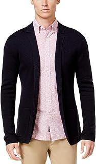Michael Kors Mens Italian Yarn Knit Two Button Blazer Jacket