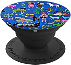 Hmong Story Cloth Love Story - PopSockets Grip and Stand for Phones and Tablets