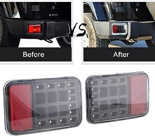 sxma LED Schwanz hinten Bumper Licht Back Up Rücklicht hinten Bremslicht Montage