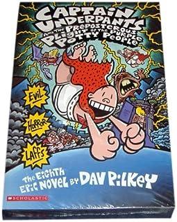 Captain Underpants Boxed Set, Books 1-8