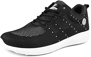 Bacca Bucci® Men's Power Trainer Running Shoes Lightweight Shockproof Walking Shoes Cushioning Men Sneakers for Gym Sports Casual Athletic Outdoor-Size-UK-6 to 13/Big