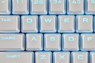 غطاء مفاتيح مزدوج الشريحة من كروسير CH-9234-WW Gaming PBT - أبيض Full CH-9000234-WW