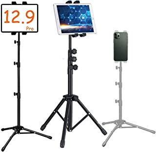 Rubik iPad Tablet & Mobile Phone Holder Tripod Stand, 360 Adjustable Cradle Bracket for Apple, Samsung, Huawei, Oppo, and ...