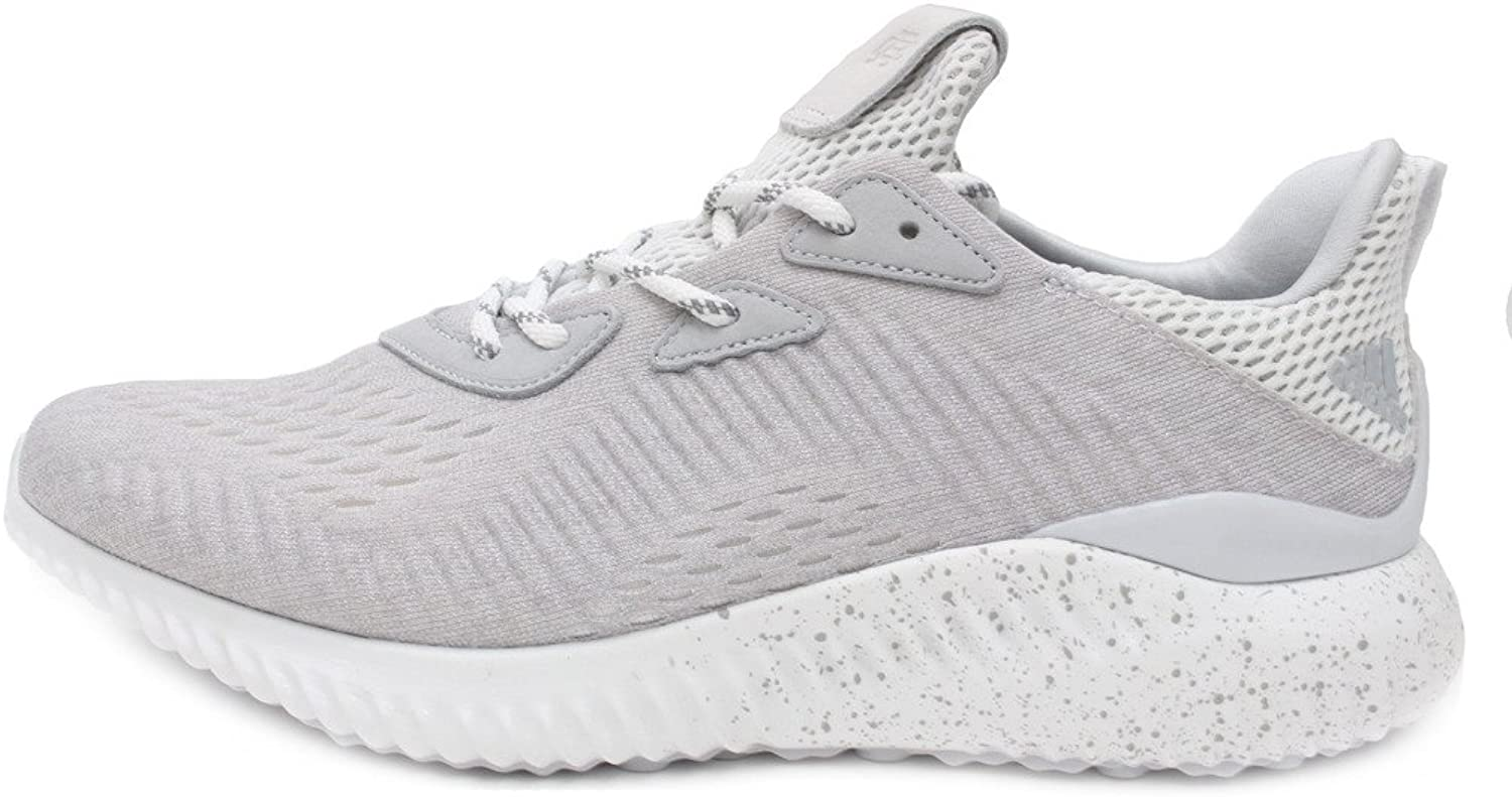 Adidas Alphabounce Reigning Champ Mens in Clear Grey White by, 8.5