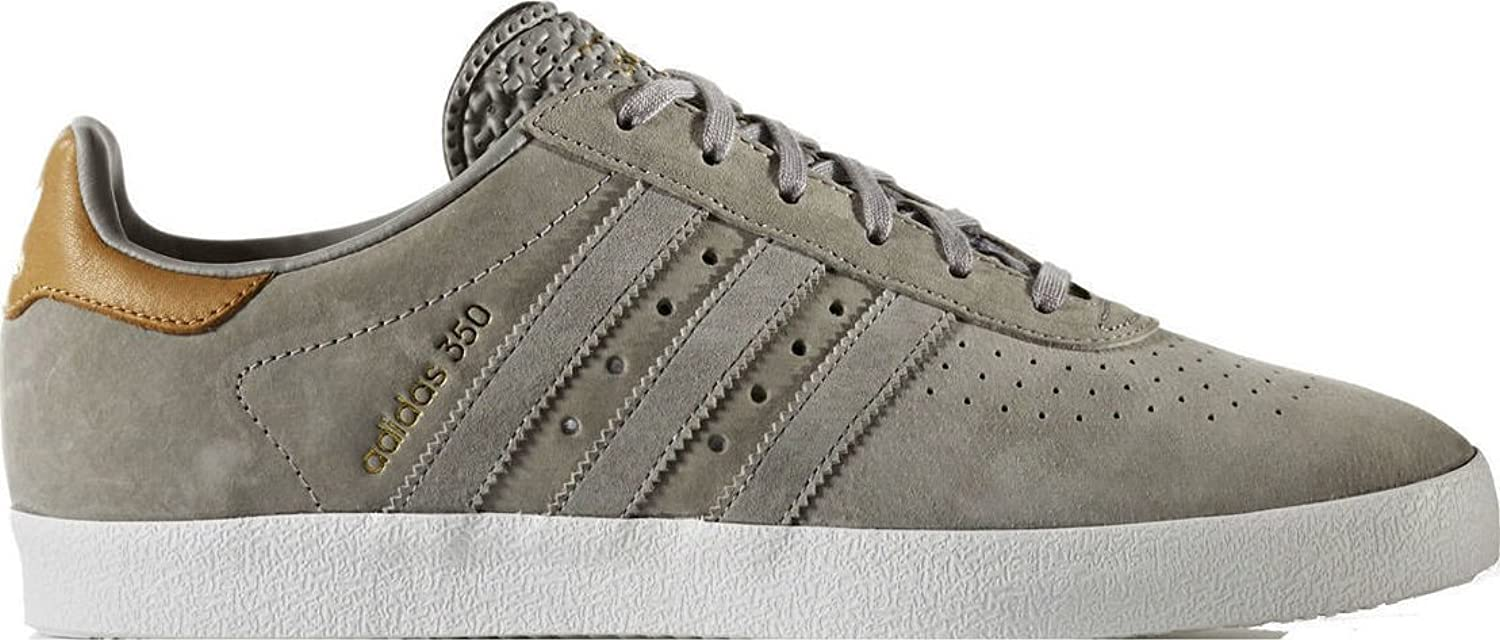 Adidas Men's Original 350 Grey Suede Fashion Sneakers