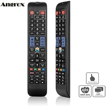 Control remoto de repuesto para Samsung TV `/ TELEVISIîN: Amazon.es: Electrónica