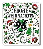 Adventskalender, Weihnachtskalender deines Bundesliga Lieblingsvereins - und Sticker Wir Leben Fußball Fairtrade (Hannover 96)