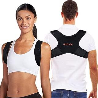 RIRGI Corrector de Postura, Cinturón Postura Corrección
