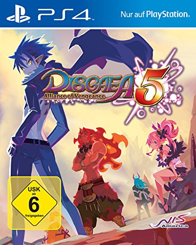 GAME Disgaea 5: Alliance of Vengeance vídeo - Juego (PlayStation 4, RPG...
