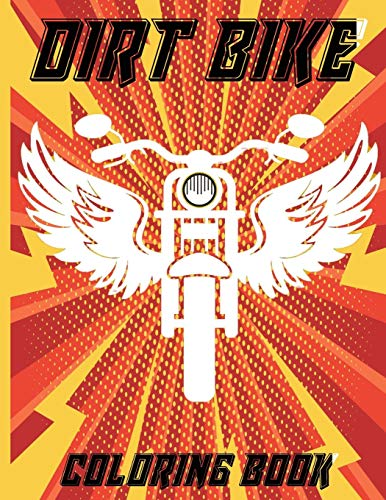 dirt bike coloring book: best gift for motorcycle and bicycle lovers ,Heavy Racing Motorbikes, Classic, Retro vintage & Sports Motorcycles to Color – For kids | Best Christmas Gift For Kids