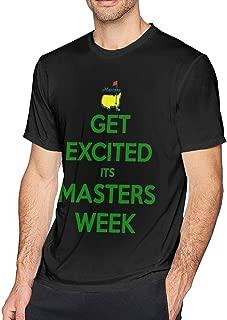 savae Mens Cool Masters Tournament Augusta Tshirt Black