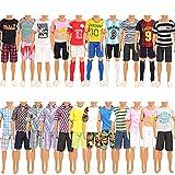 Miunana 5 Ropas Vestidos De Moda para Ken Dolls (Seleccionado Al Azar)
