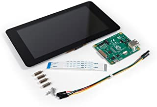 """Raspberry Pi 7"""" LCD Screen TFT 10 Finger Touch Screen Official Pi Foundation"""