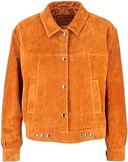 PRADA Luxury Fashion Womens 58996054F0588 Brown Outerwear Jacket |