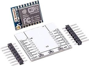 AZDelivery ESP8266 - Módulo wifi remoto inalámbrico serie WLAN para Arduino, Raspberry Pi y microcontrolador ESP-07 mit Adapter