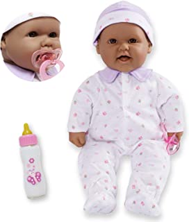 JC Toys, La Baby 16-inch Hispanic Washable Soft Baby Doll with Baby Doll Accessories - for Children 12 Months and Older, D...