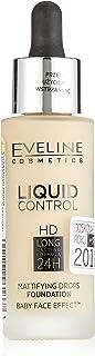 Eveline Liquid Control Foundation W/Dropper 015 Light Vanila 32Ml