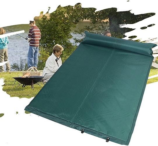 MONEYY Gonflables Double Tapis Tapis De Pique-Nique Camping Tentes De Plein Air Pad De L'Humidité Matelas Pliant Portable à Un Tapis épais