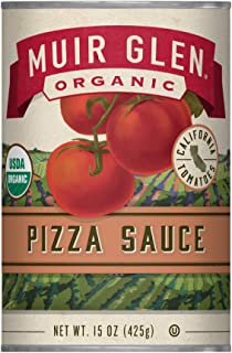 Muir Glen Organic Pizza Sauce, No Sugar Added, 15 Ounce Can (Pack of 12)