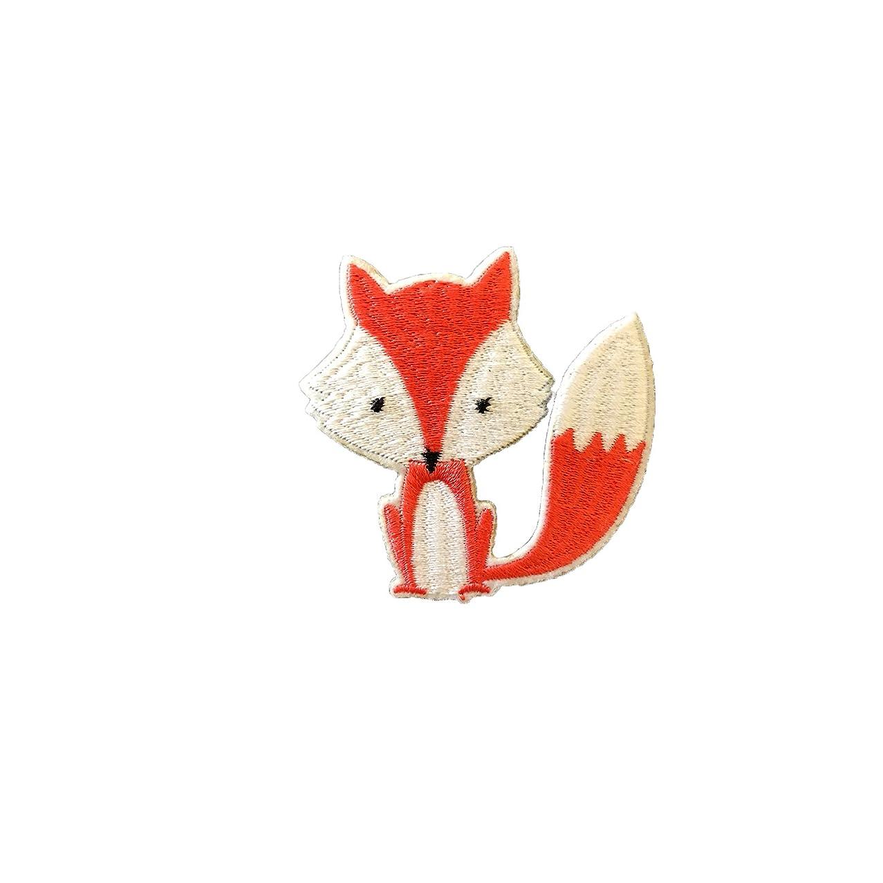 FabStix Mr. Fox Iron-On Patchette and Sticker
