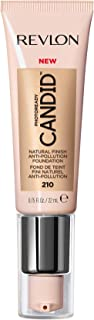 Revlon PhotoReady Candid Natural Finish Foundation, with Anti-Pollution, Antioxidant, Anti-Blue Light Ingredients, without Parabens, Pthalates and Fragrances; Natural Ochre.75 Fluid Oz
