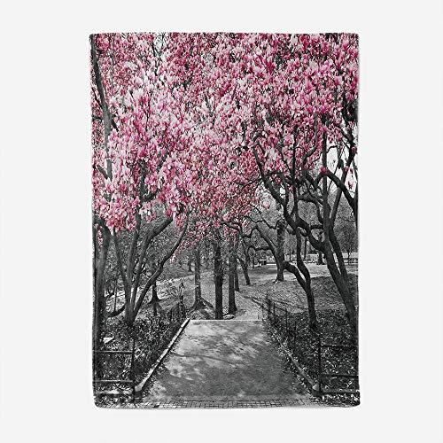 tjxu 3D Fleece-Decke Kirschbaum Geschenke Für Kinder Erwachsene Reisen Flauschig Warmen Steppdecke 180 X 200 cm