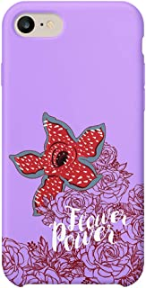 GlamourLab Stranger Things Demogorgon Flower Creature Powerful_A1373 Hard Plastic Carcasa De Telefono Estuche Protector Compatible with Protective Case Cover For iPhone 6 / iPhone 6s Gift Christmas