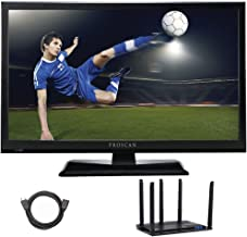 PROSCAN PLDV321300 32-inch 720p 60Hz LED TV-DVD Combo Cut The Cord Bundle Terk Trinity Xtend Amplified Indoor HDTV Antenna WiFi Extender 6ft High Speed HDMI Cable