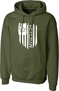 WearIndia Unisex Veteran Printed Cotton Hoodies Sweatshirt for Men and Women