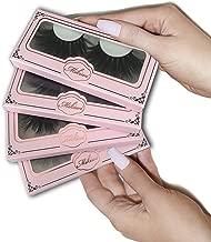 Mikiwi 4 Pack Lashes, 25mm Mink Lashes, 3D Mink Lashes, Mink Eyelashes, Dramatic Lashes, Luxury Makeup, 5D Mink Lashes.(4 pack)