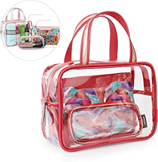 Cosmetic Bags Portable Organizer Makeup Storage High Capacity Outdoor Waterproof Dry and Wet Separation Wash Bag